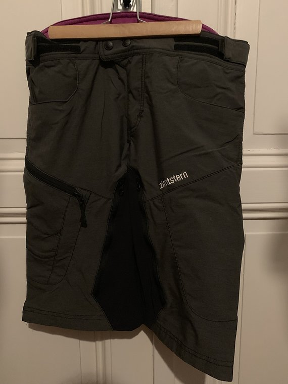 Zimtstern Freeride shorts S grau