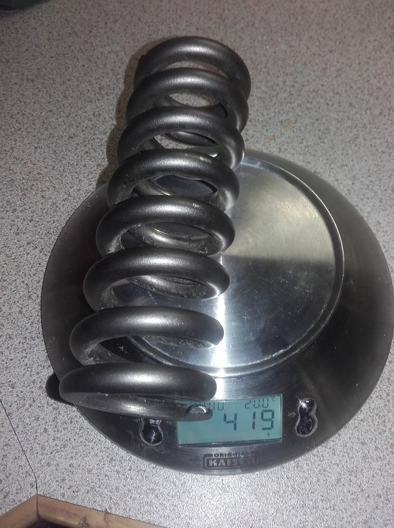 Grade5 Grade 5 Titanfeder 450x3.0, ID 36,5mm, FOX, Cane C