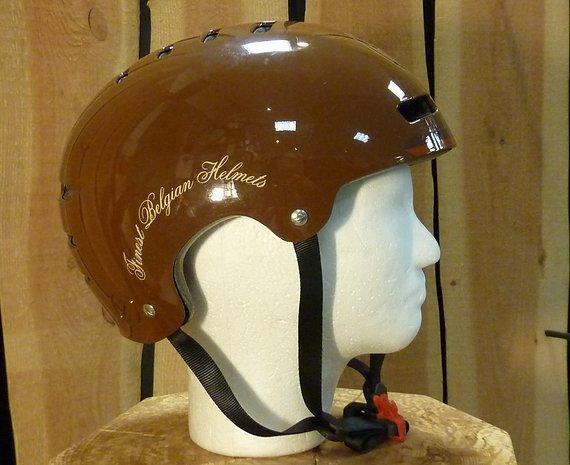 Lazer Street Helm - Braun Größe L