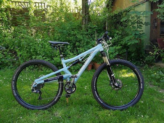 Santa Cruz Juliana 3.3 XS Damenbike Fully 9,8kg