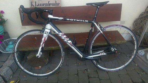 Rotwild rS2 R.S2 Vollcarbon Rennrad Edelbike Traumbike!!!