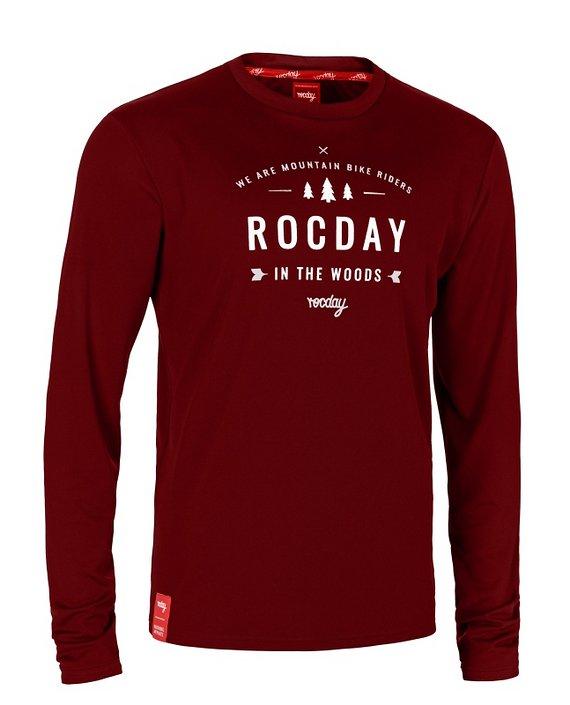 Rocday PATROL Jersey SANITIZED® Dark Red, Gr. L