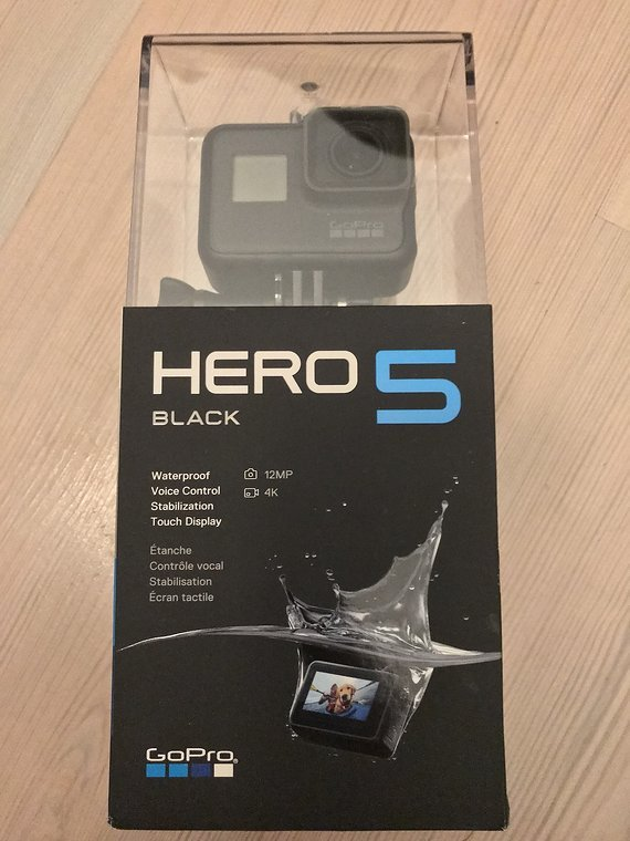 Gopro HERO5 Black Actionkamera Neuwertig !!!