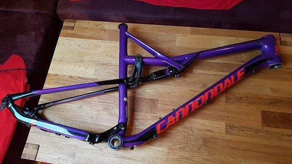 Cannondale Habit SE Rahmenset XL