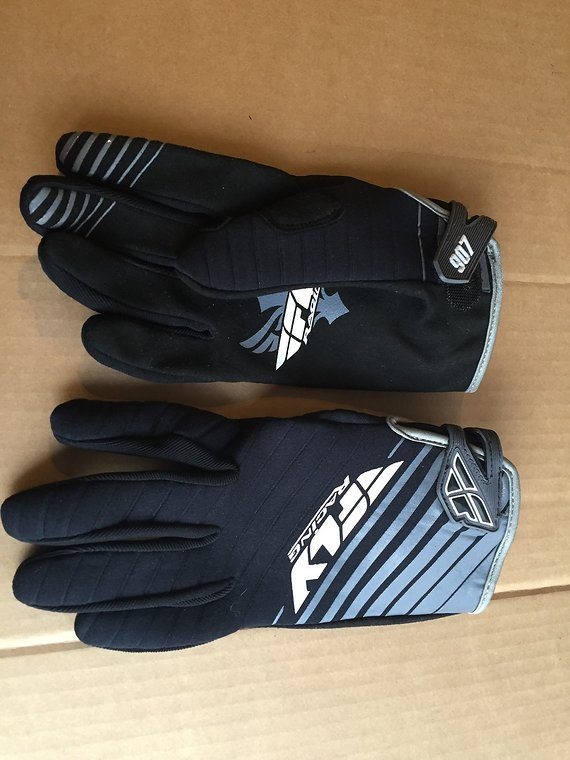 Fly Racing 907 Handschuhe Gr.L Neopren Winter Downhill Freeride Dirt Mtb