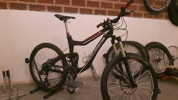 Rocky Mountain Altitude 90RSL Gr M Fully MTB Carbon