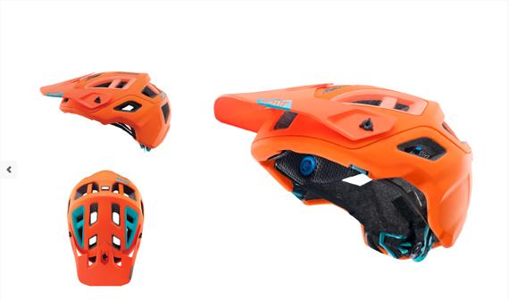 Leatt DBX 3.0 Helm All Mountain - Orange - M - Neu -