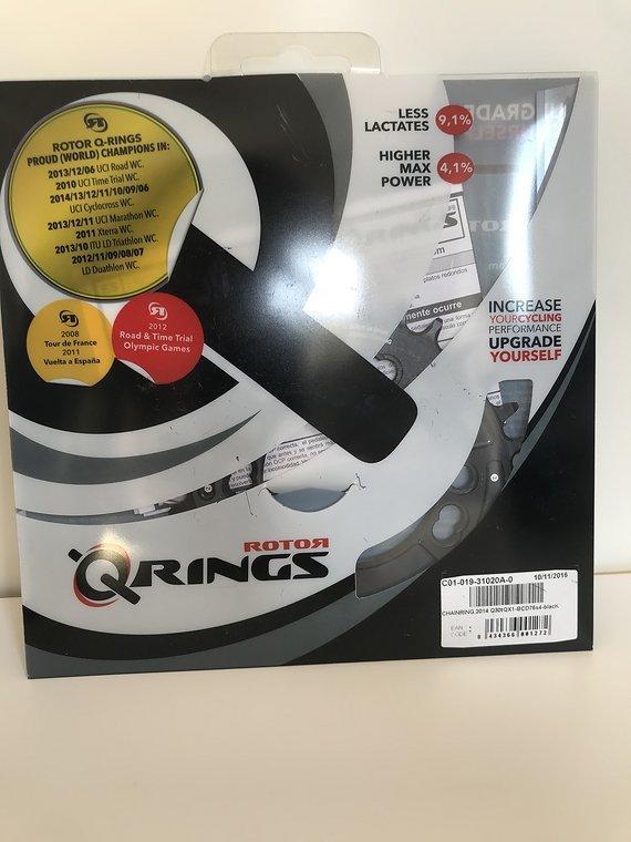 Rotor Q-Ring ovales Kettenblatt LK76 BCD76x4 30Z QX1 Neu