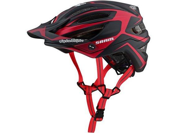 Troy Lee Designs A2 Helmet Dropout Sram Red