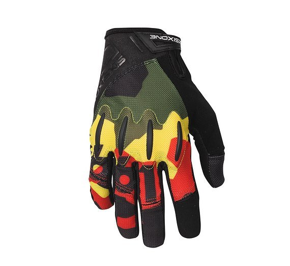 661 SixSixOne EVO II Gloves / Handschuhe Rasta XXL