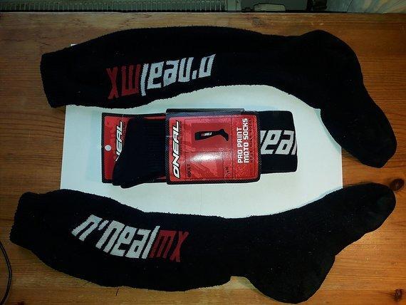 O`neil Pro Moto Socks One Size Black