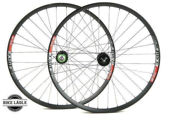 DT Swiss EX 511 Laufradsatz mit Hope Pro 4 EVO Naben / Bike-Lädle Laufradbau