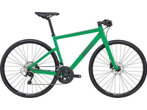 BMC Alpenchallenge A01 green neuwertig