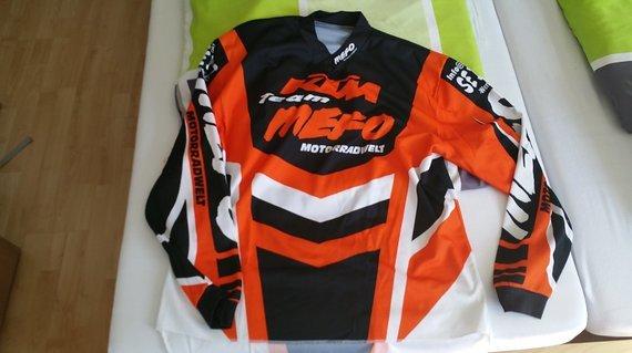 KTM MX-Trikot Langarm-Shirt XL