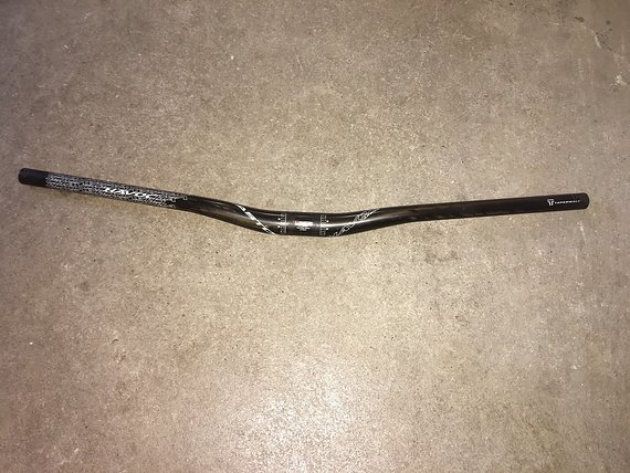 Easton Havoc Lenker, Carbon, 750mm, 31,8mm, 20mm Riser