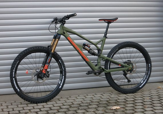 "Nukeproof Mega 275 Factory Carbon  2019 Komplettbike 27,5"" - Größe XL"