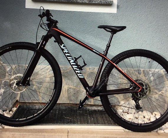 "Specialized Epic Hardtail Expert Carbon World Cup inkl. ""Brain"""