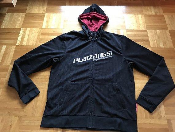 Platzangst Pullover Zipper Schwarz Größe L