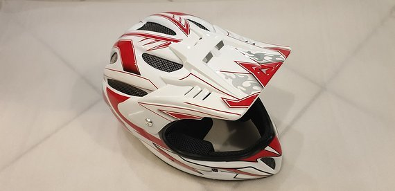 Shock Therapy Helm Full Face Vollvisier Airtime Neu