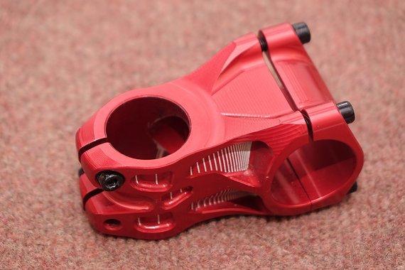 Hope Vorbau Länge 50mm 31,8mm Klemmung rot