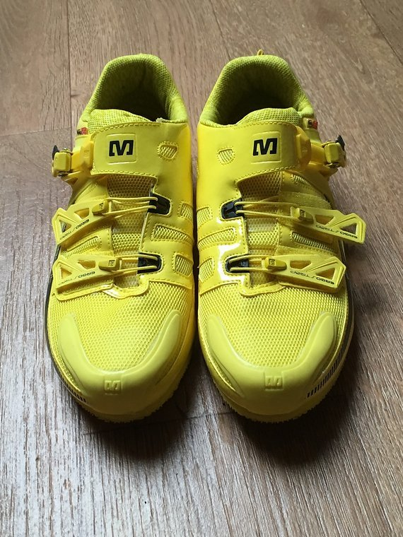 Mavic Schuhe, Shoes, Podium, Stage, Gelb, 12, EUR 47 1/3, Huez, SSC, Crossmax