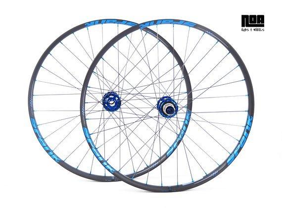 """Spank Spike 350 Vibrocore / 27,5""""- 29"""" / Laufradsatz mit Noa-BL-Evo-DH Naben / Bike-Lädle Laufradbau / Noahubs"""