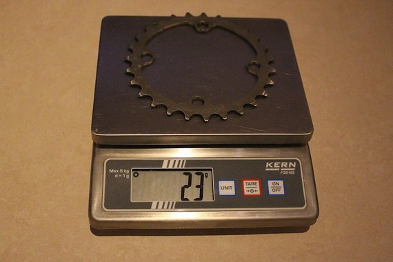 Carbon Ti Titan Kettenblatt 27 T (Leichtbau)