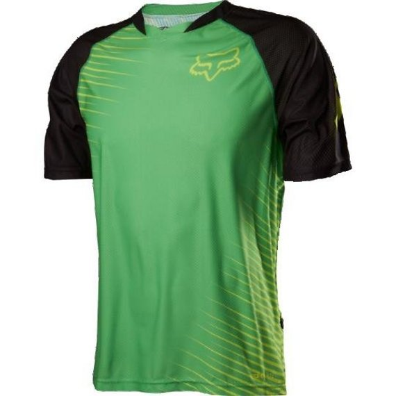Fox Clothing Jersey Flow SS Shirt grün Gr. S