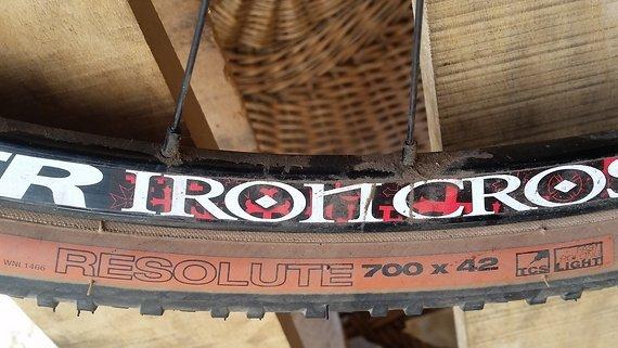 "Tune Stan's King Kong Iron Cross LRS Gravel Cross Road 28"" 622mm"