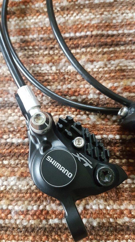 Shimano XT Bremse M785-B neu mit Zubehör
