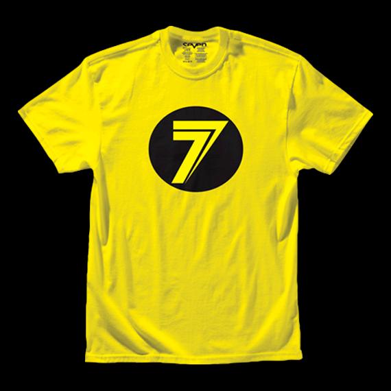 Seven Dot Tee Yellow Gr. L YOUTH *NEU*