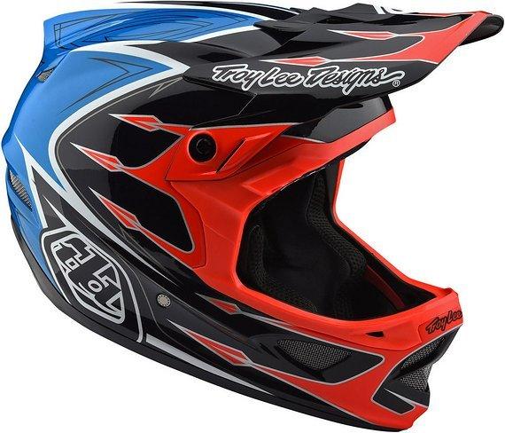 Troy Lee Designs D3 Composite Helm - Corona Orange