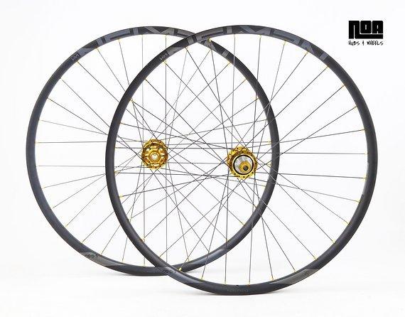 """Newmen Evolution Laufradsatz 27,5""""/ 29"""" EG/E.G 30 mit Noa EVO DH Naben E-Bike / Hybrid / Gravity / E-Bike / Bike-Lädle Laufradbau / Noahubs"""
