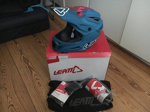 Leatt Dbx 5.0 Composite Fullface MTB Vollvisier Helm Gr. S