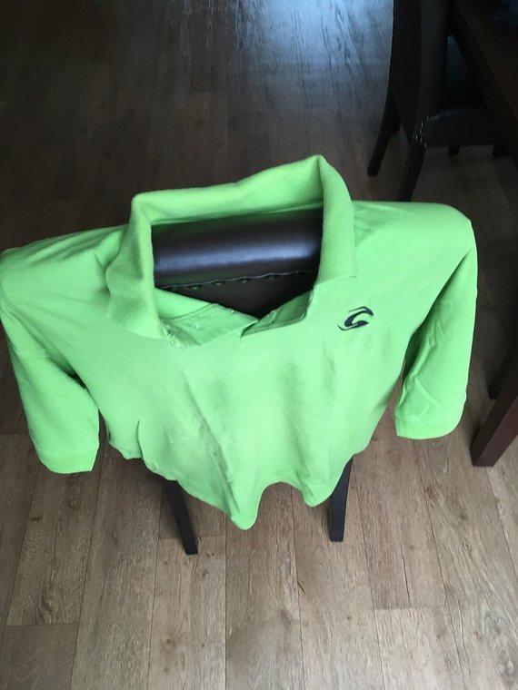 Cannondale Polo, T-Shirt, Shirt, Größe XL, Cannondale, Grün, Casual