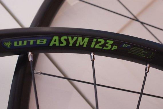 WTB ASYM i23p Laufradsatz (29er, Boost, SRAM)