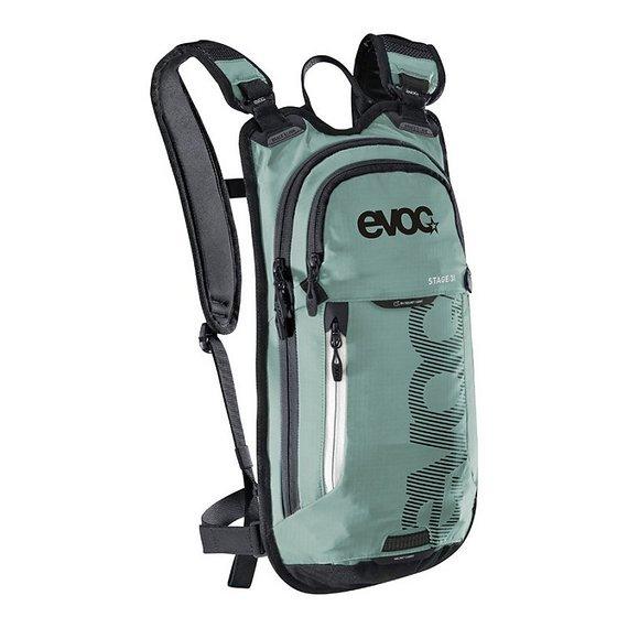 Evoc Stage 3 L Rucksack + 2L Bladder Light Petrol NEU