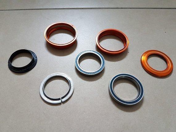Tune Bubu Steuersatz Orange ZS44/28.6 | ZS44/30