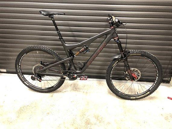 Santa Cruz Bronson 2 CC XL Schwarz ( Rahmenset )