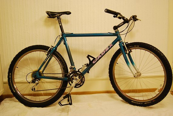 "Giant Cadex 21"" Original Komplettbike"