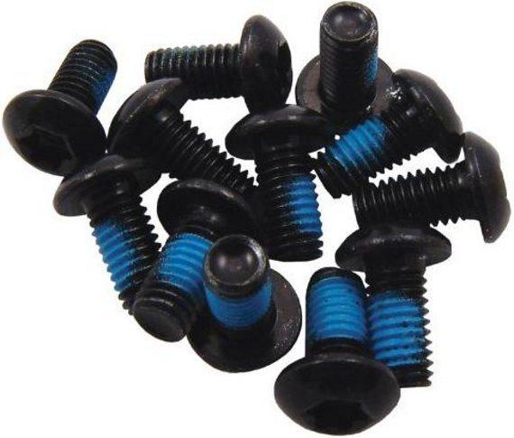 Hayes Bremsscheibenschrauben / schwarz / Torx T25 / 24 Stück