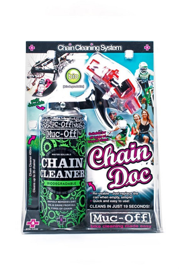 Muc-Off Chain Doc Kettenreiniger + 400ml Chain Cleaner im Set
