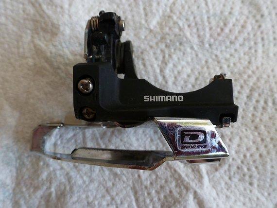 Shimano Umwerfer XT FD-M770-A-E E-Type Top Swing 3x10