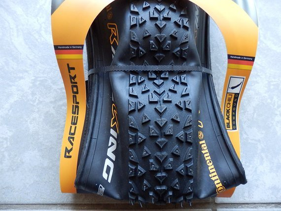 "Continental 2x Race King Race Sport 27,5"" x 2,2 MTB Black Chili NEU"