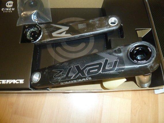 Race Face Next R Carbon Kurbel 175mm - 68/73 mm CHINCH Achse - NEU
