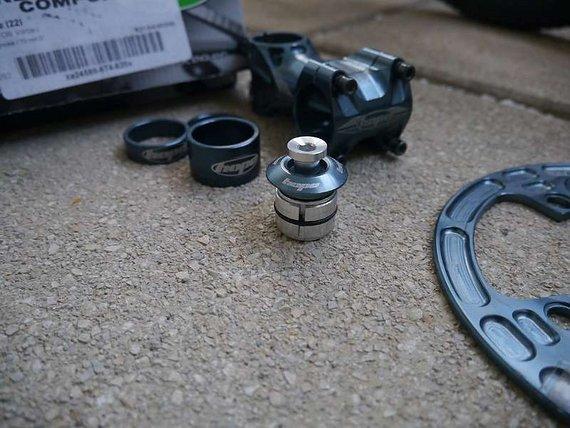 Hope Gunsmoke Parts: Vorbau 70mm, Head Doctor, Space Doctor