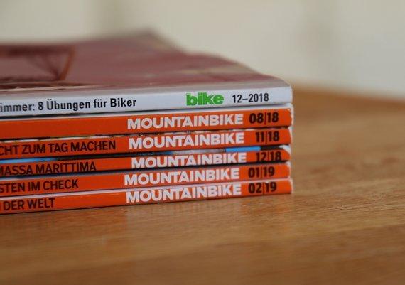 Mountain Bike Magazin 5 Ausgaben Mountainbike + 1 Bike Magazin