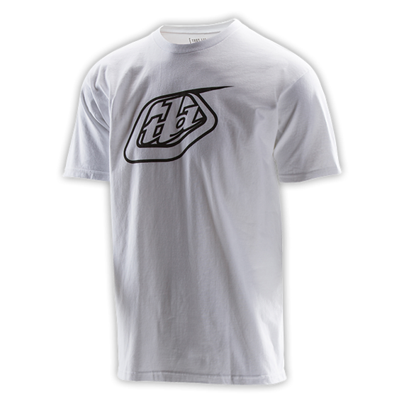Troy Lee Designs LOGO TEE Gr. S WHITE