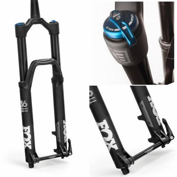 "Fox 36 FLOAT PERFORMANCE E-BIKE 27,5"" 170 mm GRIP Achse 15 mm Boost Offset 51 mm Schwarz 2019"