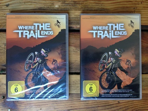 Red Bull Where The Trails Ends DVD neu verpackt